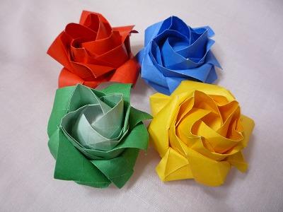 クリスマス 折り紙 折り紙 バラ 立体 : matome.naver.jp